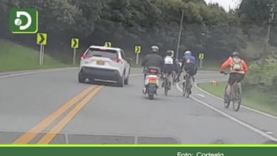 Photo of En las vías del Oriente Antioqueño se vive una constante disputa entre ciclistas y conductores