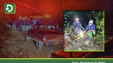 Photo of Tragedia familiar: Madre e hija mueren al caer en un carro por un abismo en El Retiro
