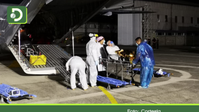 Photo of Por alta ocupación de UCI: Fuerza Aérea trasladó tres pacientes covid desde Rionegro a Bogotá