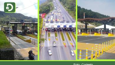 Photo of De los 10 peajes más costosos de Colombia, tres están ubicados en el Oriente Antioqueño