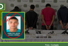 Photo of Capturan a alias «Hamilton», jefe de sicarios de la banda criminal «El Mesa» en Sonsón