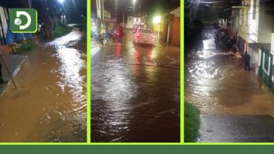Photo of Aguacero de este domingo causó inundaciones en varios municipios del Oriente Antioqueño