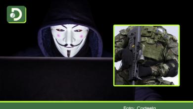 Photo of Anonymous tumbó página del Ejército: reveló correos y contraseñas de miembros de la institución