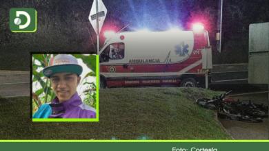 Photo of Marinilla: Dos jóvenes mueren tras chocar contra un separador en la autopista Medellín – Bogotá