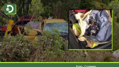 Photo of Tragedia familiar en el Oriente Antioqueño: en accidente vial murieron 3 integrantes de una familia