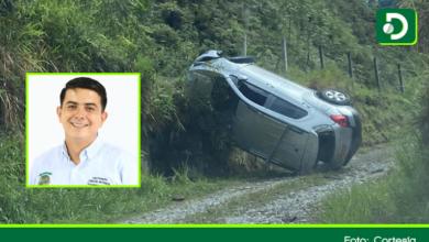Photo of Concejal de San Luis sufrió aparatoso accidente de tránsito en la vía Medellín – Bogotá y salió ileso