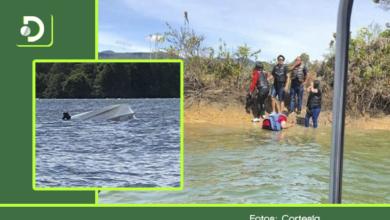 Photo of Versiones encontradas sobre la lancha que se volcó en Guatapé: ¿oleaje o sobrecupo?