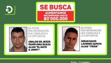 Photo of Hasta $80 millones de recompensa ofrecen por los más buscados de Rionegro