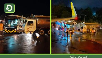 Photo of Nueve heridos dejó choque de dos vehículos al interior del aeropuerto de Rionegro