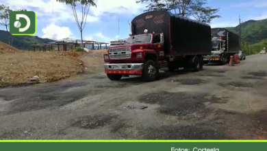 """Photo of La """"trocha"""" que hacen pasar por autopista: tramo Caño Alegre – Santuario, vía Medellín – Bogotá"""