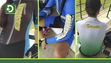Photo of Equipo de Patinaje de San Rafael con cinta y lapicero solucionó el problema de no tener uniforme: alcaldía les incumplió